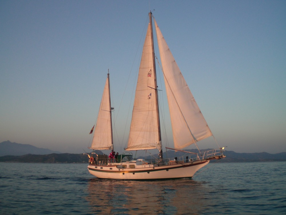 Rental Sailboat in Mauguio - Blue-Water Vagabond 47