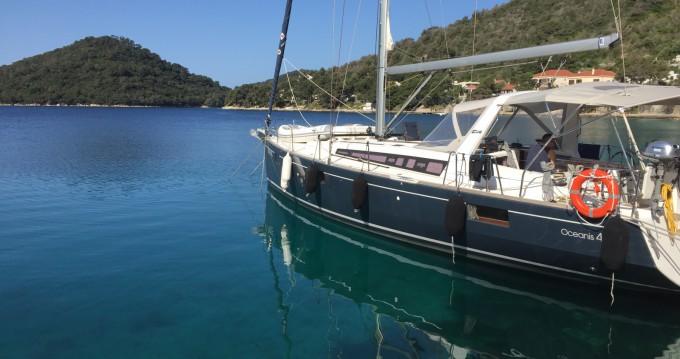 Boat rental Split cheap Oceanis 48
