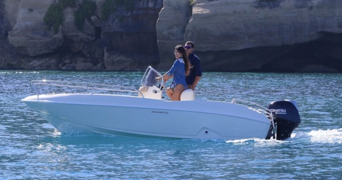 Hire Motorboat with or without skipper Ta.ma.re Tropea