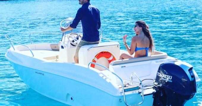 Rental Motorboat in Tropea - Ta.ma.re Jaguar 5.50