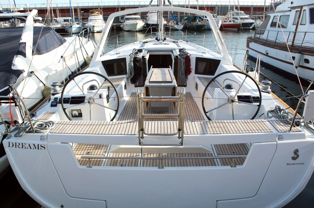 Hire Sailboat with or without skipper Bénéteau Barcelona