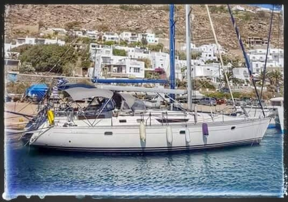 Sailboat for rent Tourlos at the best price