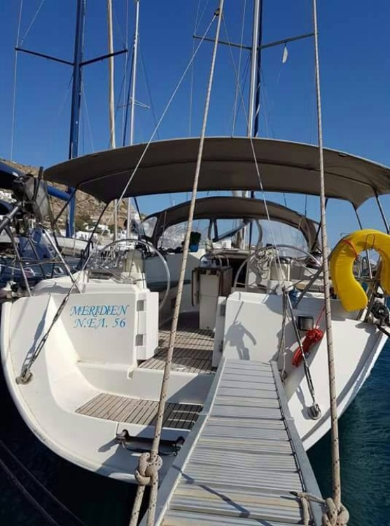 Jeanneau Sun Odyssey 45.1 between personal and professional Tourlos