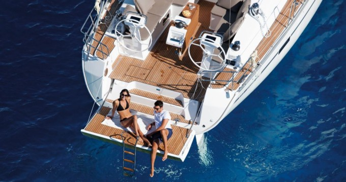 Bavaria Cruiser 46 between personal and professional Olbia
