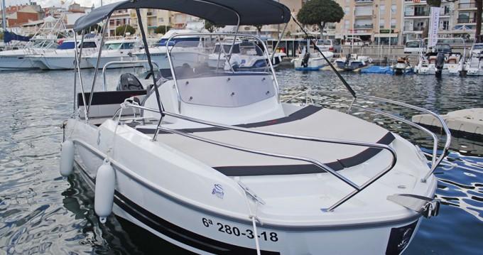 Rental Motorboat in l'Estartit - Bénéteau Flyer 5.5 SUNdeck