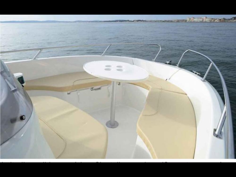 Jeanneau Cap Camarat 635 Style between personal and professional Calvi