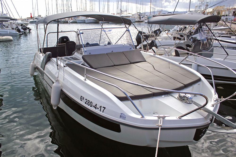 Boat rental Bénéteau Flyer 7.7 SUNdeck in  on Samboat