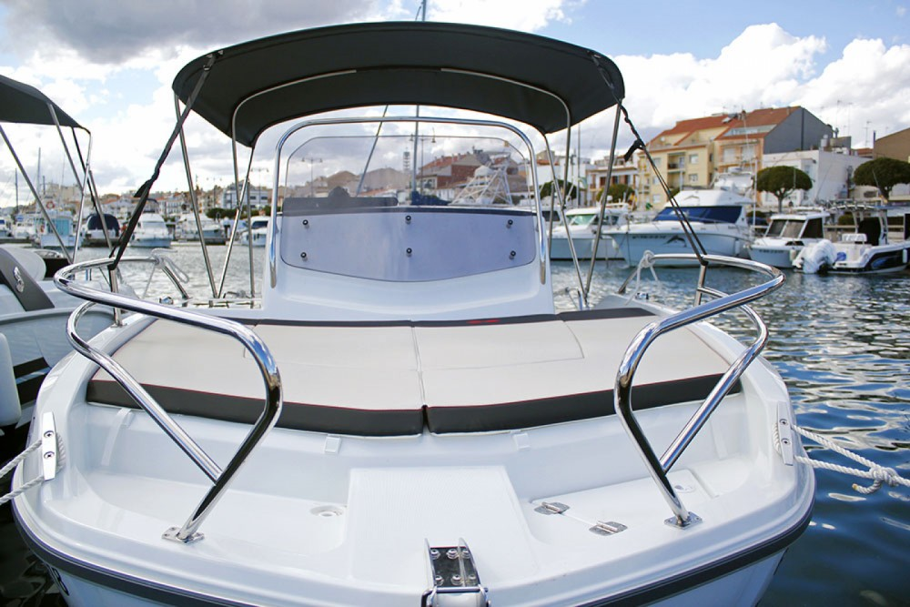 Boat rental Cambrils cheap Flyer 5.5 SUNdeck