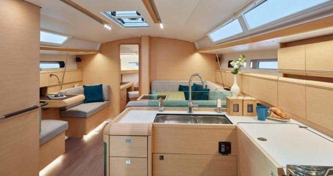 Rental Sailboat in Sukošan - Jeanneau Sun Odyssey 449