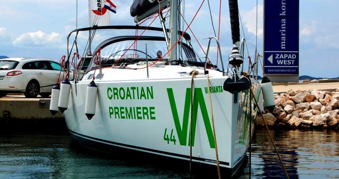 Rental yacht Biograd na Moru - Hanse Varianta 44 on SamBoat