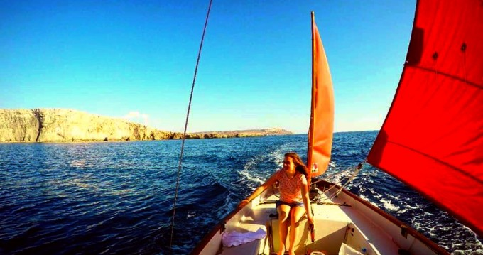 Rental Sailboat Drascombe lugger by Church boats with a permit