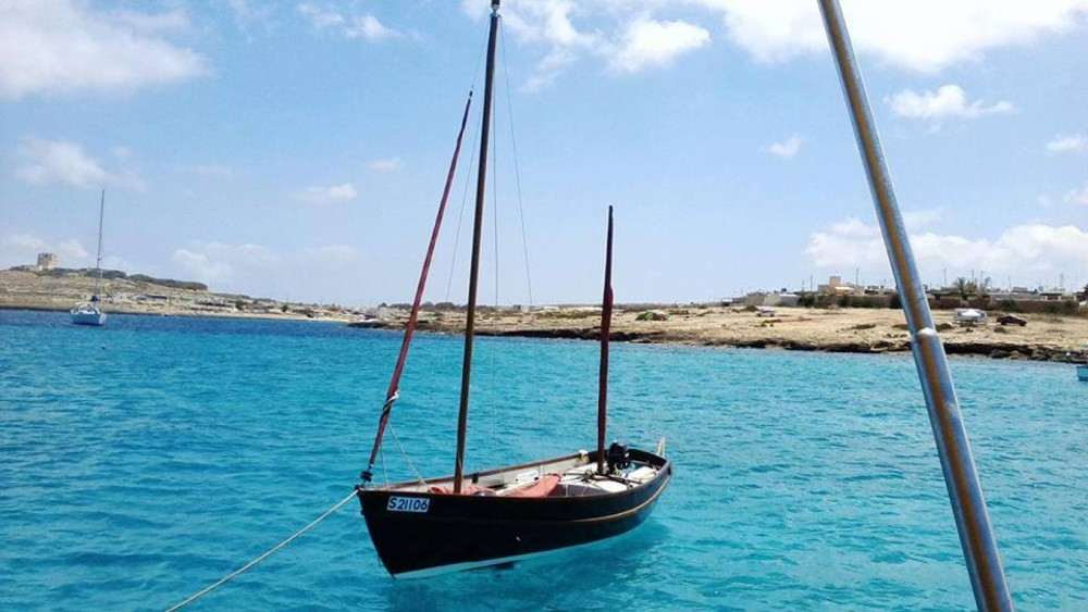 Rent a Drascombe lugger by Church boats Drascombe Lugger Valletta