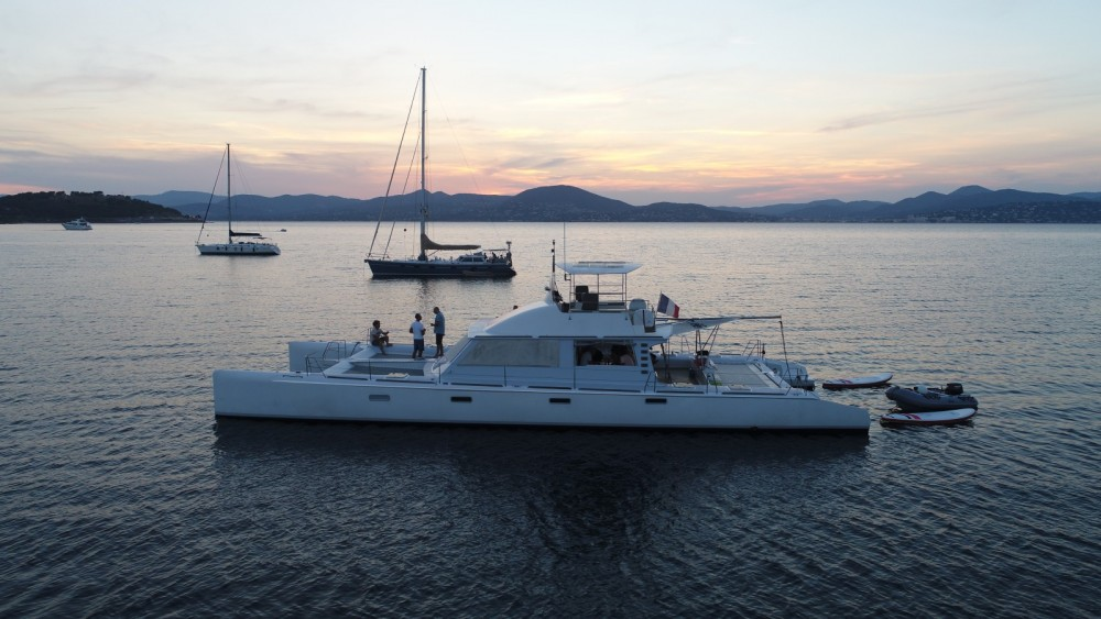 Hire Catamaran with or without skipper Catamaran Cogolin