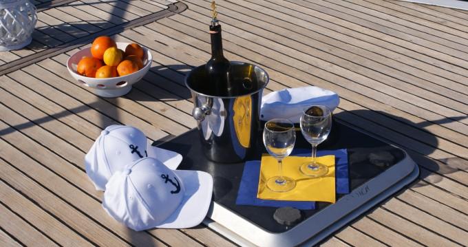Rental yacht Taormina - vz vz50 fly on SamBoat