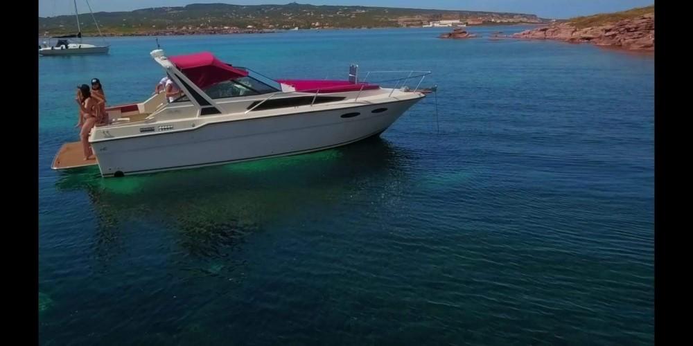 Sea Ray Sea Ray 300 between personal and professional Portoscuso
