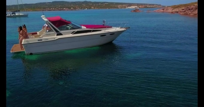 Hire Motorboat with or without skipper Sea Ray Portoscuso