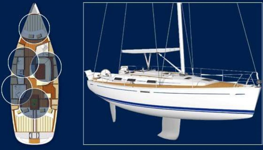 Dufour Dufour 385 Grand Large between personal and professional Neos Marmaras