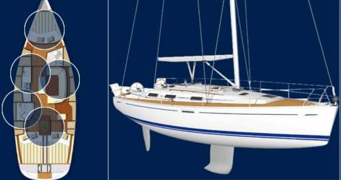 Rental yacht Sithonia - Dufour Dufour 385 Grand Large on SamBoat