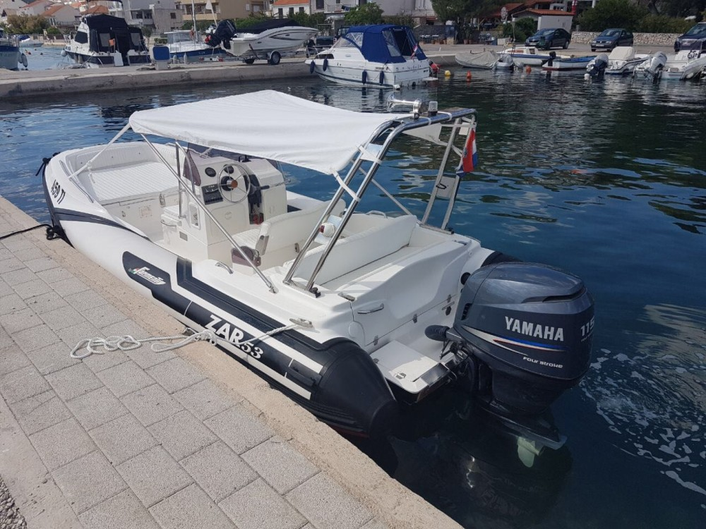 RIB for rent Tisno at the best price