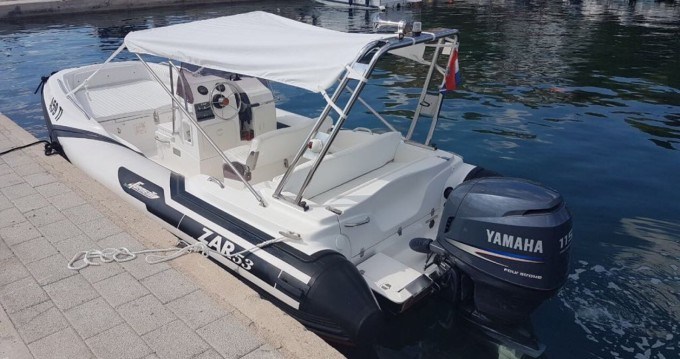 Hire RIB with or without skipper Zar Tisno