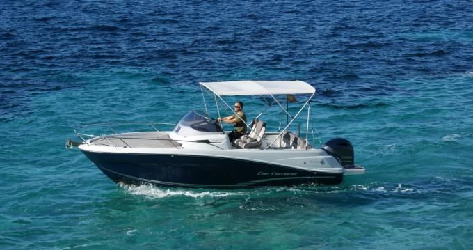 Boat rental Ibiza Island cheap Cap Camarat 6.5 WA