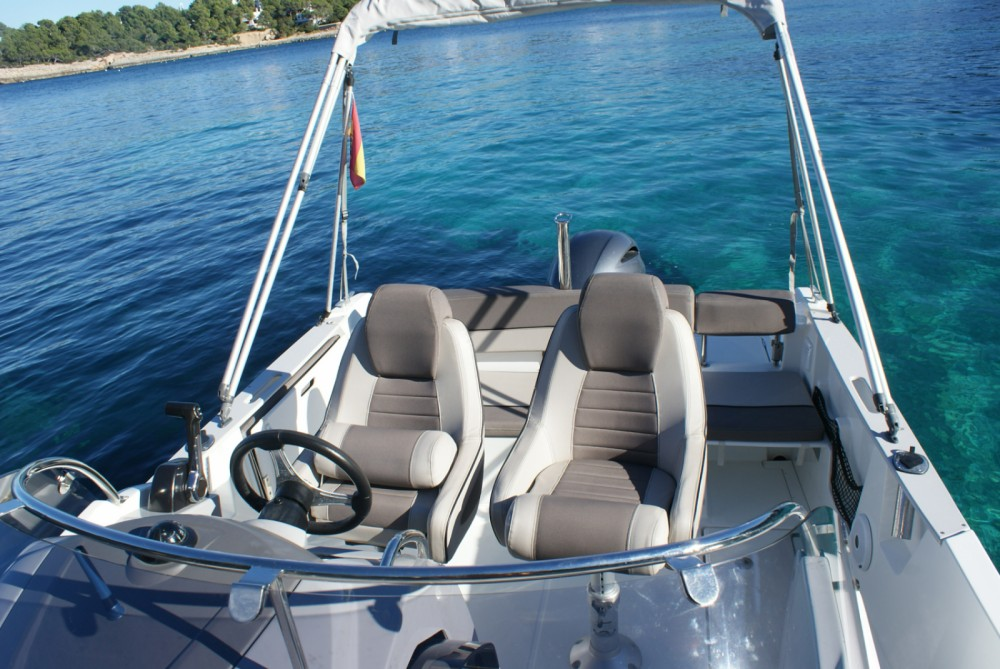Boat rental Marina Santa Eulalia cheap Cap Camarat 6.5 WA