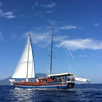 Rental Sailboat in Milazzo - Gullet Kpatain