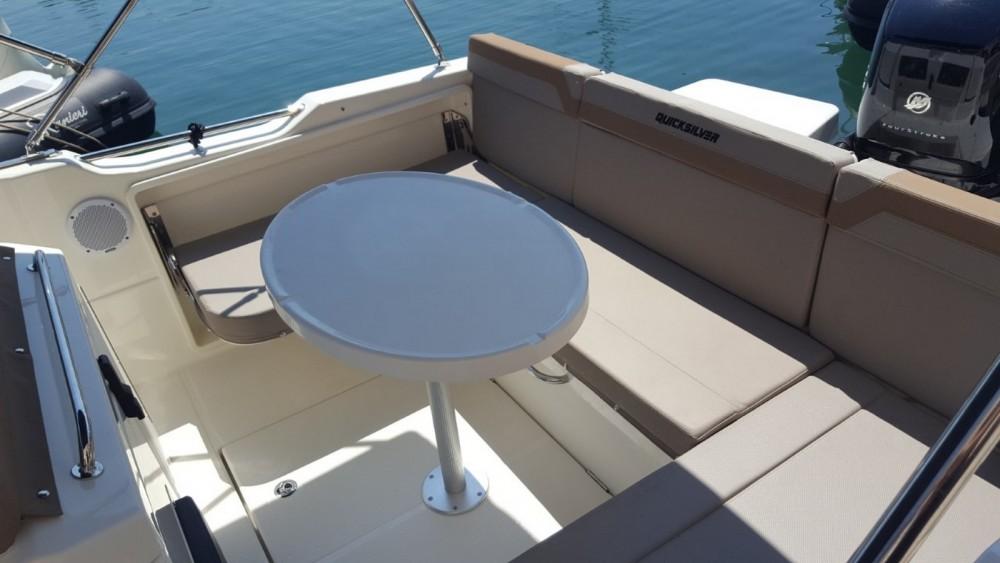 Boat rental Quicksilver Activ 755 Open in Fréjus on Samboat