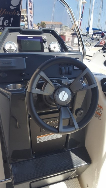 Rental Motorboat in Fréjus - Quicksilver Activ 755 Open
