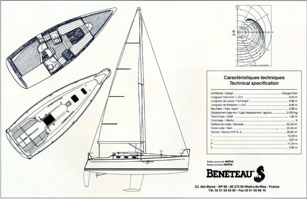 Rental Sailboat in Martigues - Bénéteau First 300 Spirit