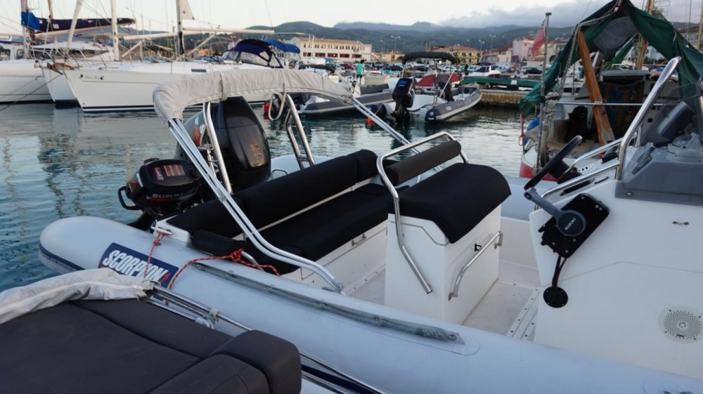 Boat rental Scorpion 740 in Peloponnese, Western Greece and the Ionian on Samboat