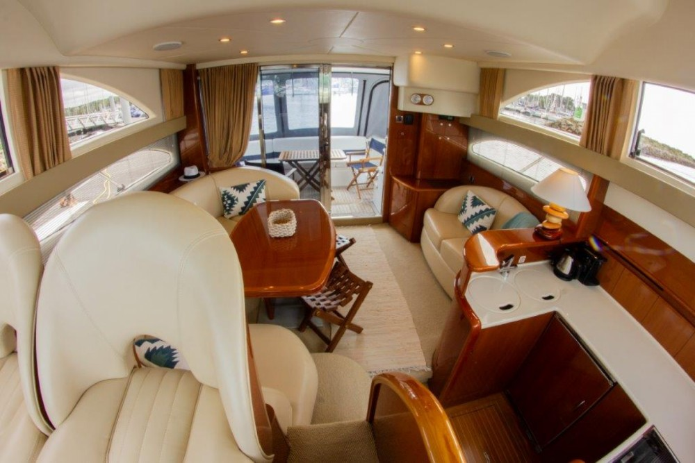 Boat rental Port-la-Forêt cheap Princess 45 Fly