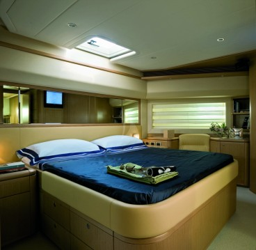 Ferretti yacht between personal and professional Antibes