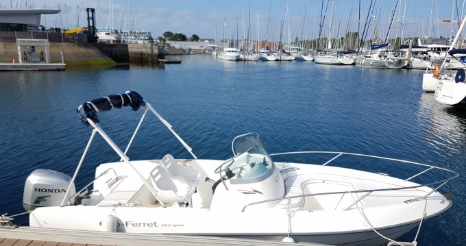 Hire Motorboat with or without skipper B2 Marine Vannes