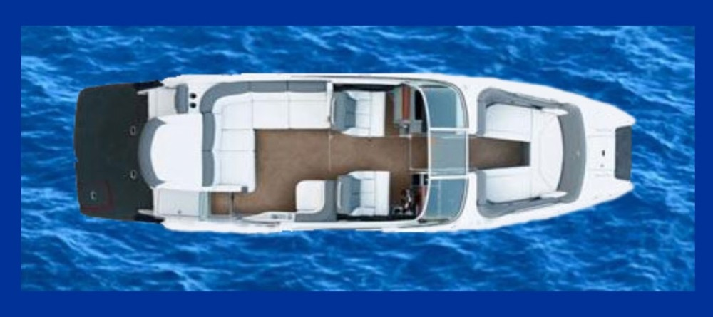 Hire Motorboat with or without skipper Four Winns Nice