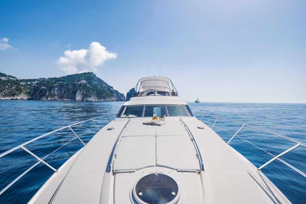 Yacht for rent Positano at the best price