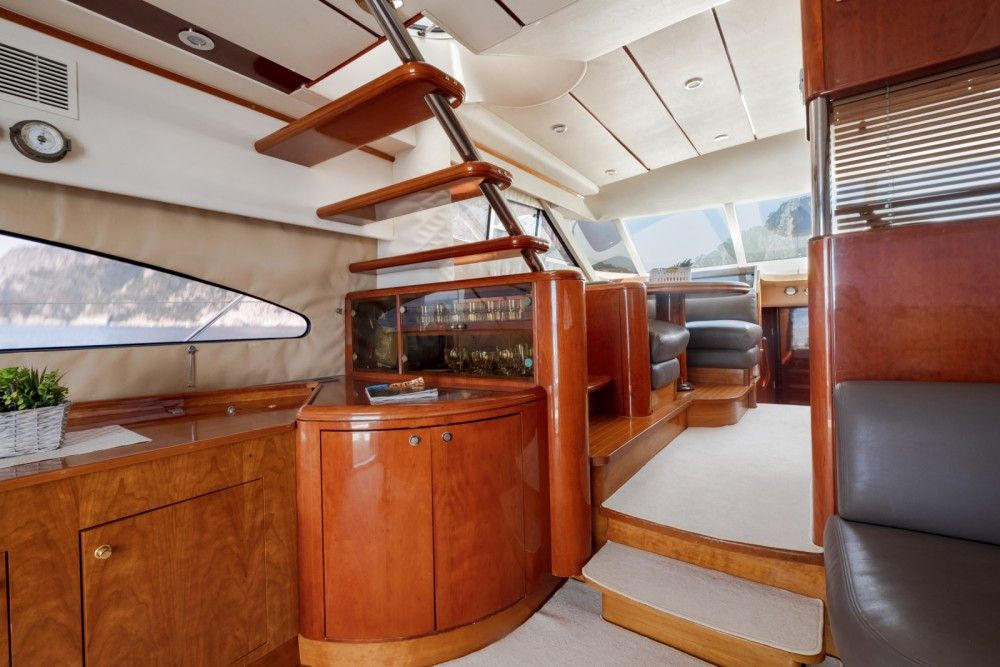 Fairline Squadron 60 between personal and professional Positano
