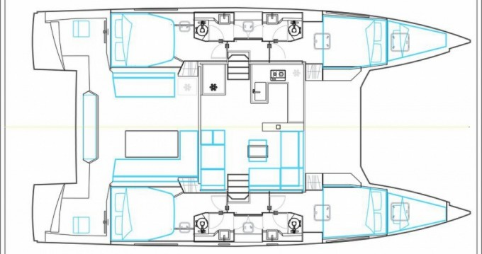 Nautitech open 46 between personal and professional Le Marin