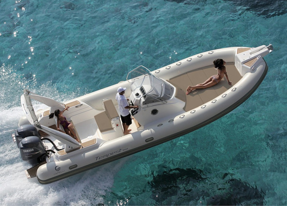 Boat rental Coti-Chiavari cheap Tempest 850 Open