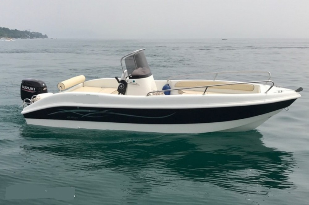 Rental Motorboat as maine enika with a permit