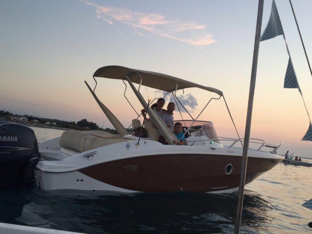Sessa Marine Key Largo 27 between personal and professional Milazzo