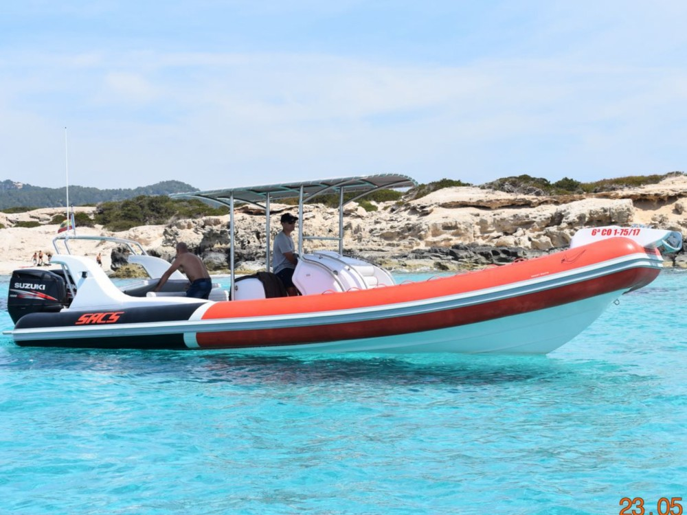 Boat rental Sacs Samurai 875 in Eivissa on Samboat