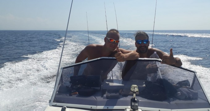 Rental Motorboat in Livorno - vegliatura off mare