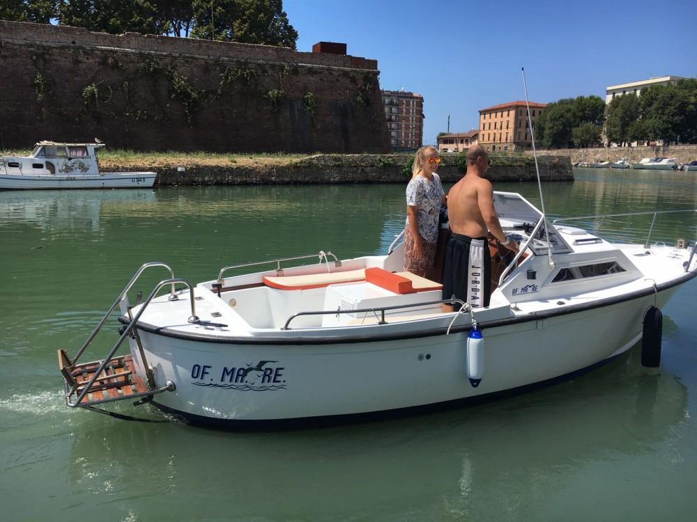 Rental Motorboat vegliatura with a permit