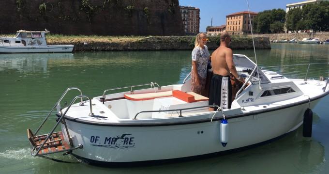 Boat rental Livorno cheap off mare