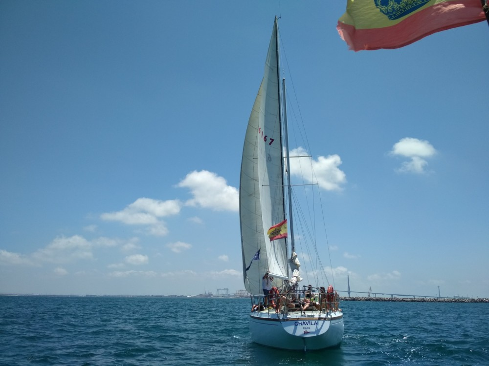 Boat rental Cádiz cheap ketch