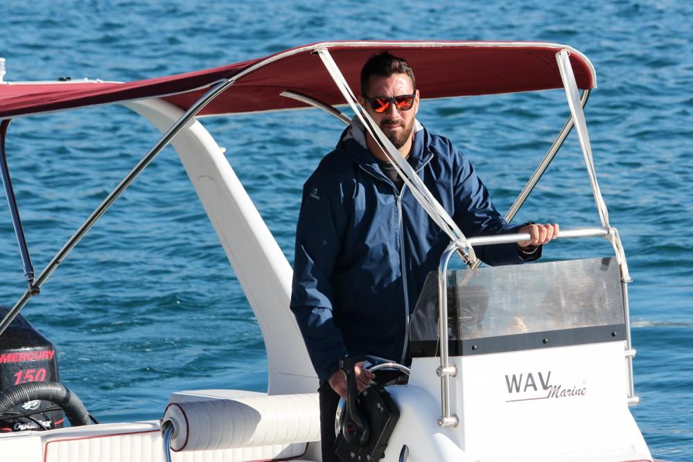 Boat rental Split cheap Topline 650