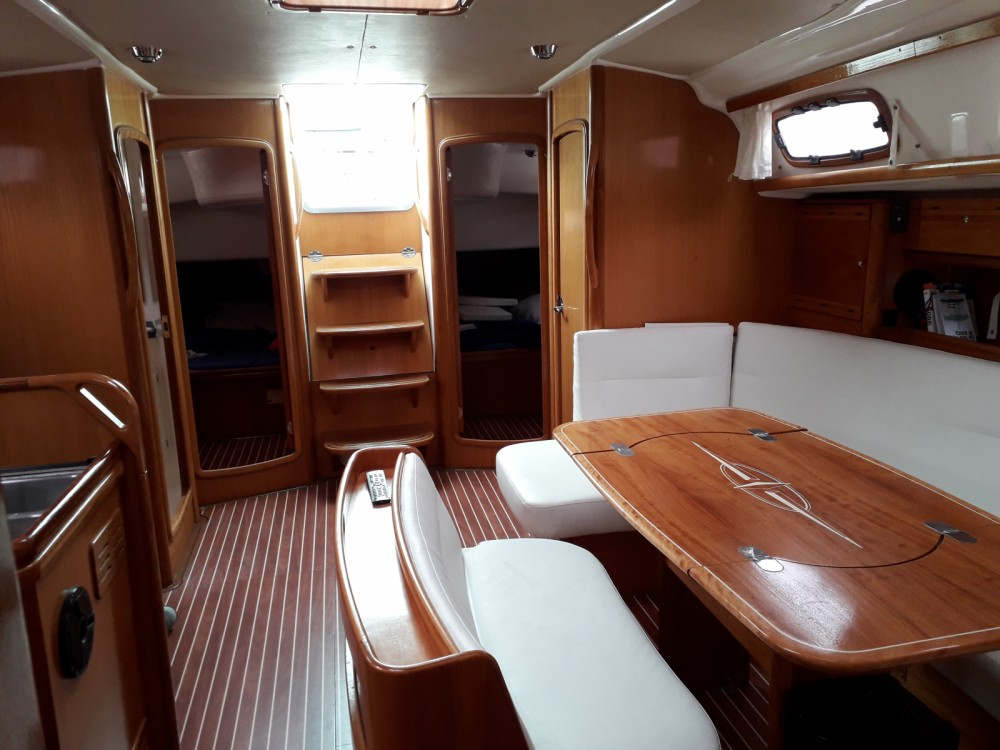 Bavaria Cruiser 50 between personal and professional Procida