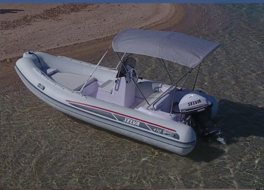 Boat rental Ibiza cheap Selva D470 AUXILIAR O TENDER