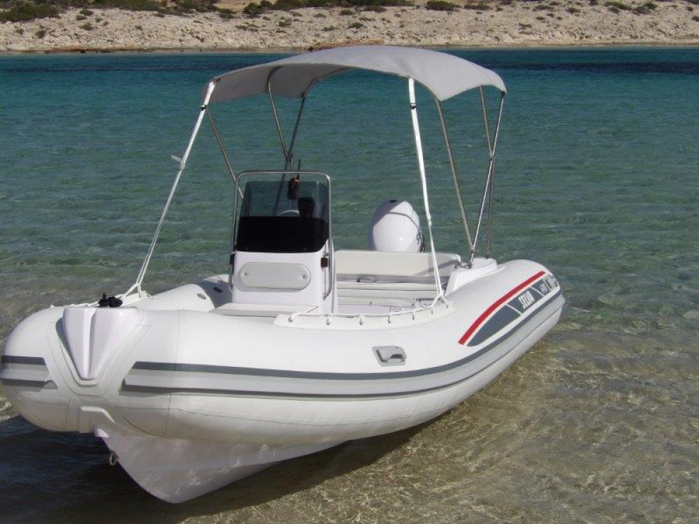 Hire RIB with or without skipper Selva Ibiza
